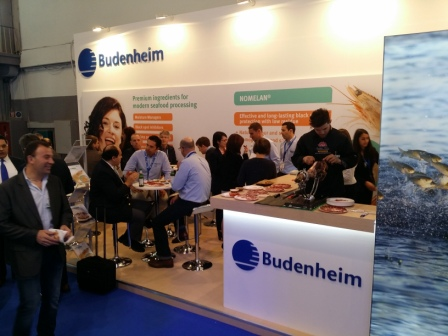 Budenheim Brussels Exhibition Stand